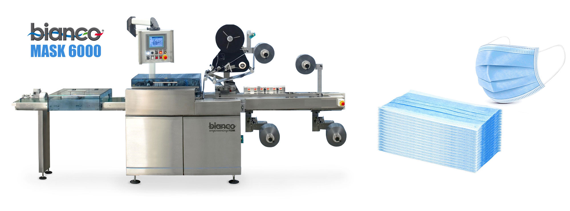 BIANCO SPA STARTS THE PRODUCTION OF MACHINERY FOR SURGICAL MASKS
